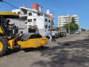 Retomada da operação tapa-buracos depende da retomada do fornecimento de cimento asfáltico pela Petrobrás